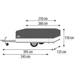 Caravane pliante avec cuisine Manga Basic - Caravanes pliantes - CABANON