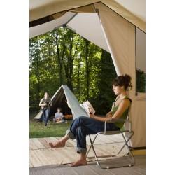 Tente en bois et toile Classic 500 Bois Permanent - HPA - CABANON