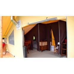 Tente en toile et bois : Classic 700 Permanent NF Poêle - HPA - CABANON